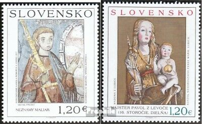 Slovakia 648-649 (complete.issue.) unmounted mint / never hinged 2010 Art