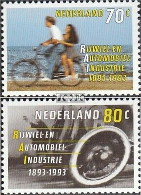 Netherlands 1460-1461 (complete.issue.) unmounted mint / never hinged 1993 Bicyc