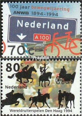 Netherlands 1518-1519 (complete.issue.) unmounted mint / never hinged 1994 Weltr