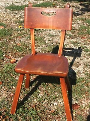 Vintage Genuine Cushman Colonial Creation Vermont Dining Room Chair