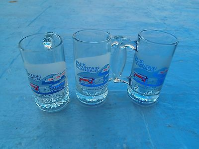 CHEVY RARE BLUE MOUNTAIN CLASSICS PA CAR SHOW MUGS 1955 1956 57 CHEVY 1 of 275