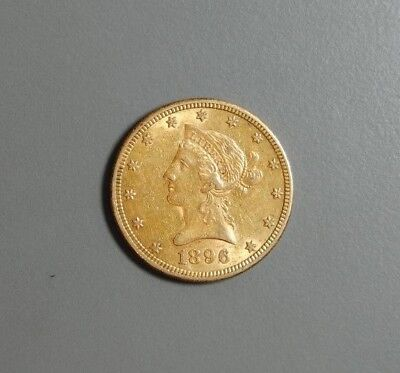1896-S $10 Liberty Gold Piece