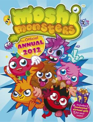 Moshi Monsters: Official Annual 2012, VARIOUS, Used; Good Book