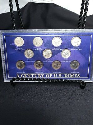A Century Of U.S. Dimes Collection