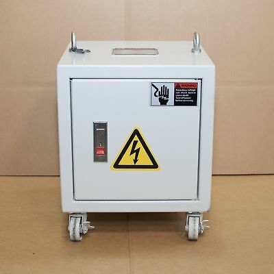 3-Phase 3KVA Enclosed Auto Transformer Pri: 480/575/600V Sec: 220V