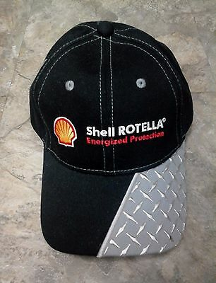 New Shell Oil Rotella Energized Protection Service Station Gas Attendant Cap
