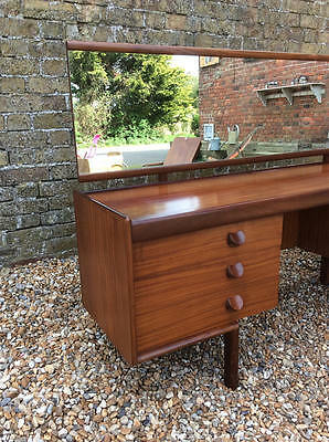1960's Teak White and Newton 6 drawer dressing table