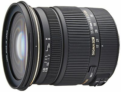 Brand New Sigma 17-50mm f/2.8 EX DC OS HSM Zoom Lens for Canon DSLR