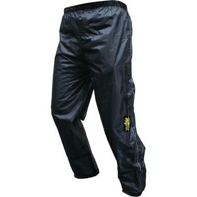 Motrax Motorcycle Bike Scooter 100% Waterproof Unlined Over Trousers Pants