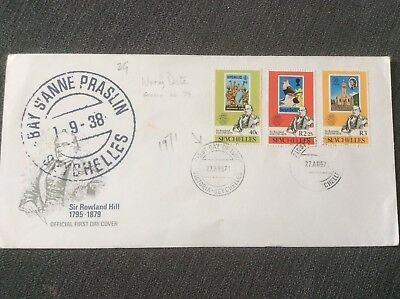 Fdc Seychelles Issued With Wrong Date See Description