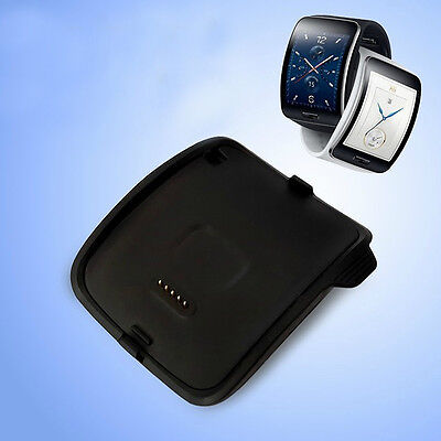 Charging Cradle Smart Watch Charger Dock For Samsung Galaxy Gear S R750 Black