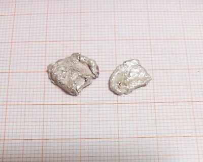 3.34 Grams .999 Crystalline Silver Large Crystal Nuggets