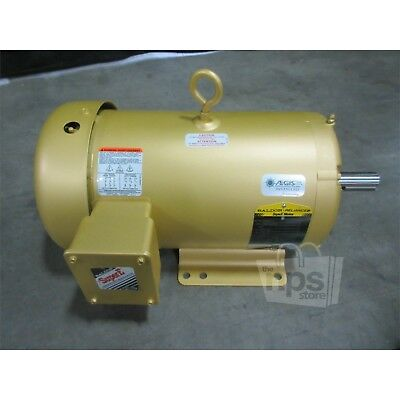 Baldor Reliance EM3615T-G Super-E Electric Motor 5Hp 1230/460V 1750RPM, 3-Phase*