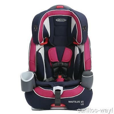 Graco Nautilus 65 LX 3-in-1 Harness Booster Car Seat AYLA FASHION MODEL 1946249