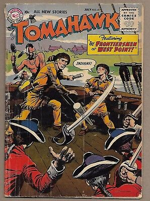 Tomahawk #41~Fred Ray Frontiersmen Of West Point cover~Early DC Sci-fi Western