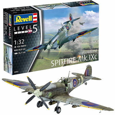 REVELL Spitfire Mk.IXC 1:32 Aircraft Model Kit 03927