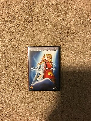 The Sword in the Stone (Bluray Disc, 2013, 2-Disc Set, 50th Anniversary. No Code