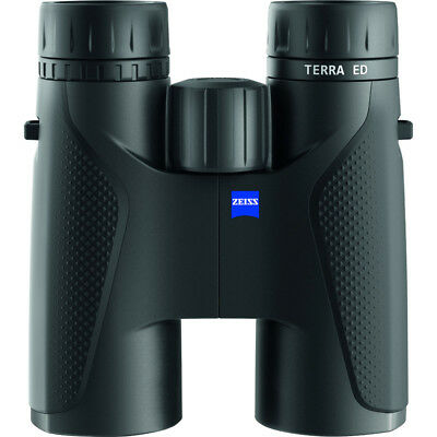 Zeiss TERRA ED 10x42 Binoculars Black NEW factory sealed with NEW carry Case