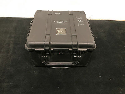 PELICAN 1640 CASE Large with EXTENSION HANDLE & ROLLERS  used