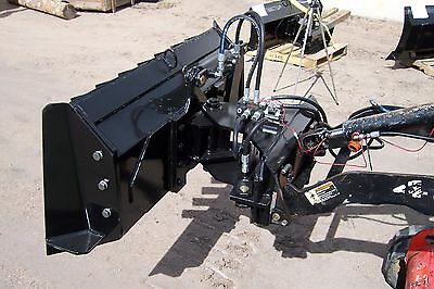 extreme new 6 way trail dozer blade for mini skidsteer fits Dingo, Ditch Witch