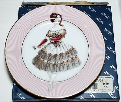 Fitz and Floyd Limited Edition Danceuse Salad Plate III UPC 742414124254
