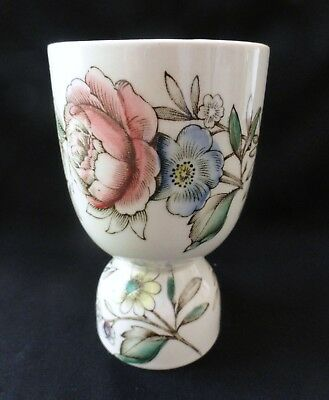 Johnson Brothers Floral Rose Transferware Double Egg Cup