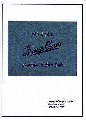 Swap Card Catalogue - Your Guide To 'genuine' 70's/80's  Artist Style Swapcards