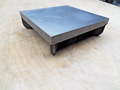 """CAST IRON SURFACE PLATE , 6-1/4 x 6-1/2"""""""