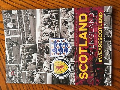 Scotland V England Football Programmes