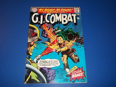 G.I. Combat #118 Silver Age Haunted Tank Fine+ Beauty Wow Awesome Cover
