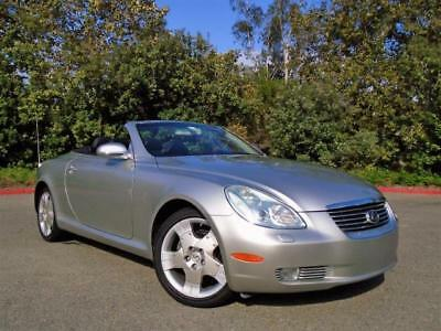 2004 Lexus SC 430 2004 Lexus SC 430 Automatic* One Owner* Only 37k miles*