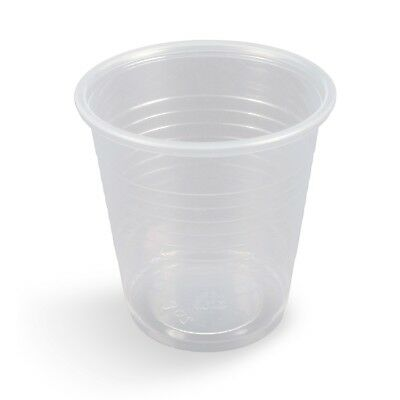 3 oz Plastic Cups Case of 2500 - New!