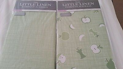 Fitted cot sheet x2 Little Linen Company