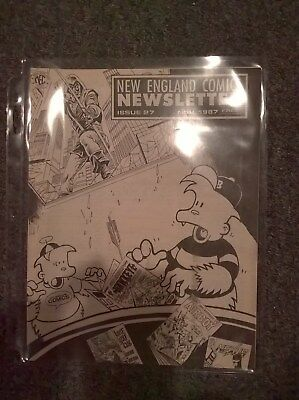 New England Comics Newsletter Issue 27 - November 1987 - Publisher of THE TICK