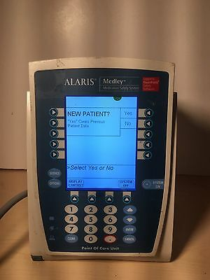 Alaris PC 8000 Medley Guardrails Medication Safety System PCU Unit Infusion Pump