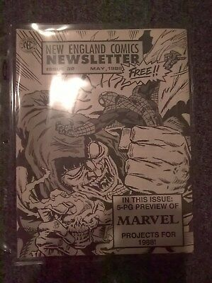 New England Comics Newsletter Issue 32 - May 1988 - Publisher of THE TICK