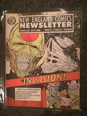 New England Comics Newsletter Issues 37 / 38 - Oct / Nov 1988 - THE TICK