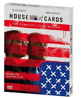 House of Cards: The Complete Fifth Season 5 (DVD, 2017, 4-Disc)