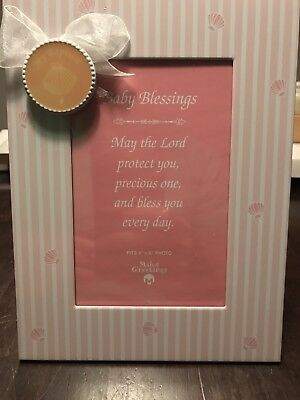 4 X 6 Baptism Picture Frame