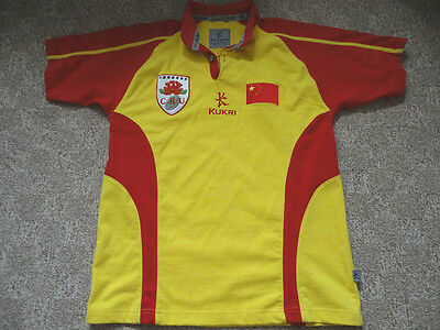 Authentic Kukri China National Team Rugby Union Football Soccer Jersey Shirt S