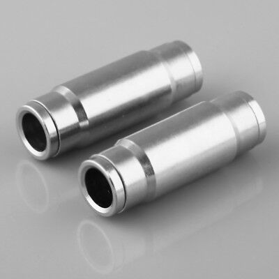 "2pcs 3/8"" Straight Pipe Fitting Misting Slip Connector Slip Fast Fitting"