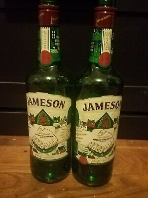 (2) 2017 Jameson Limited Edition St. Patrick's Day Bottle