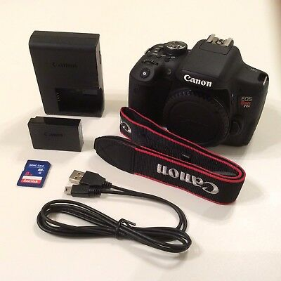 Used Canon EOS Rebel T6i / EOS D750 Digital SLR Camera - Body and Accessories