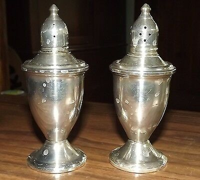 Duchin Creation Sterling Silver Weighted Salt And Pepper