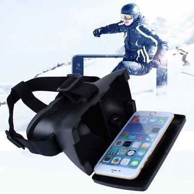 Hot Virtual Reality VR 3D Video Games Glasses Plastic For iPhone 6 Samsung S6 DD