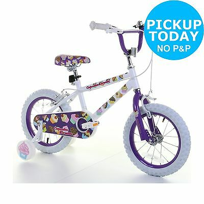 14 Inch Girls Bike - Cupcake From the Official Argos Shop on ebay