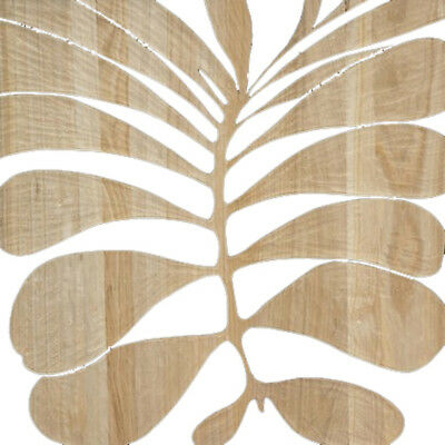 Wall Art 60 x 60 LEAFY Wooden Timber Hand Carved Picture Painting MangoWood