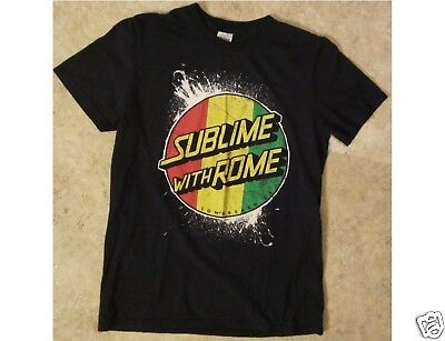 SUBLIME with ROME Size Small Black T-Shirt