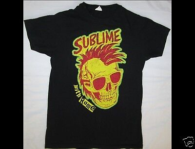 SUBLIME with ROME Tour 2010 Size Small Black T-Shirt