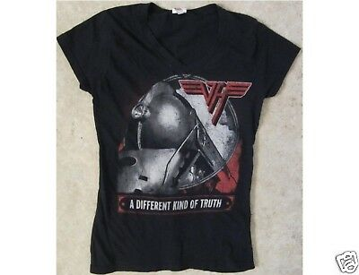 VAN HALEN A Different Kind Of Truth Junior Size Medium Black T-Shirt
